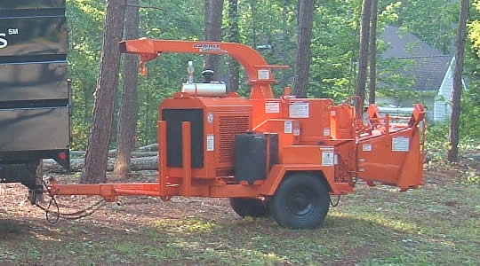 Chipper - Atlanta Tree Service Experts - Free Wood Chips